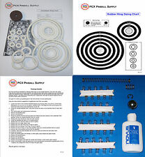1967 Williams Touchdown Pinball Machine Tune-up Kit - Includes Rubber Rings!