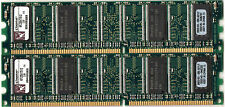 Lot de 2 barrettes 512 DDR 400MHz KINGSTON KFJ2847/512 soit 1Gb PC3200