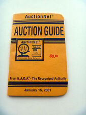 NADA AuctionNet Auction Guide January 15, 2001 Wholesale Data Network