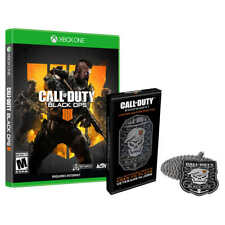 CALL of DUTY Black OPS XBOX Limited Edition DOG TAGS 💀 ***factory sealed***NEW*