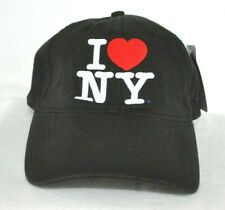 *I LOVE NEW YORK* Ball cap hat embroidered *OURAY SPORTSWEAR*