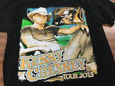 Kenny Chesney No Shoes Nation Tour 2013 T Shirt Size Medium