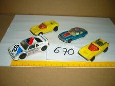 Konvolut Nr. 670 Modellautos MATCHBOX - LESNEY, Mod Rod, Citroen S.M., BMW M1