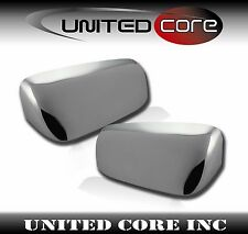 Chrome Mirror Cover Top Upper Cover Skull Cap Ford Mustang 05-09 Triple Chrome