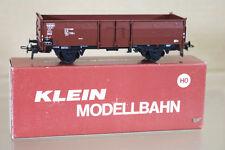 KLEIN MODELLBAHN 3071 DB OFFENER GÜTERWAGEN STEEL SIDED MINERAL WAGON 266-7 ni