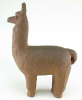 Stefan & Ida Erdös Meisinger Studiokeramik Ton Töpferei Lama Alpaca Figur wgp