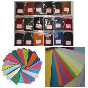 10g Tie Dye Kit Non-toxic Graffiti Paint Bamboo Wood Paper Straw Pigment Set DIY