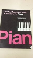 I più richiesti Melodie al mondo per Pianoforte: musica Score