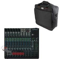 Mackie 1402VLZ4 14-Channel Compact Analog Live Sound Mixer + Gator Carry Bag