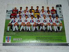 CLIPPING POSTER FOOTBALL 1983-1984 STADE BRESTOIS BREST 29 FRANCIS-LE BLE