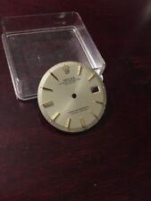 Quadrante Rolex Datejust 36 mm Ref 1601  Argentè Indici Gold