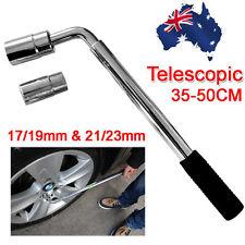 AU Extendable Car Wheel Brace Heavy Duty Nut Wrench Sockets 17/19mm & 21/23mm