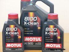 9,33€/l Motul 8100 X-clean 5W-30 C3  7 Ltr  BMW LL 04  MB 229.51