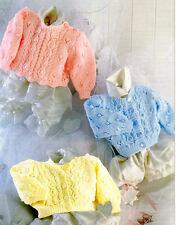 Baby Bobble Con Ojales Cable Cardigan & Sweater VIEIRA BORDE DK 18 Pulgadas - 26 A Tejer