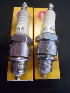 BP7HS Pair Plugs NGK BP7HS Fiat 500 R Fiat 126