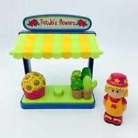 ELC Happyland Petula's Flower Stall Set Plants Pretend Play Free P&P