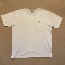 Acne studios Niagra Face T-Shirt Medium Blanc