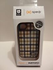 SPECK BURTON Fitted CASE for Apple iPhone 4 - Brown Yellow Plaid