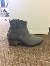 Brakeburn Grey Cowboy Boots Size 5 RRP £79.99