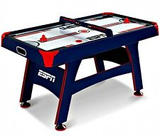 60 Inch Air Powered Hockey Table with Overhead Electronic Scorer, All Included