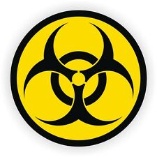 Bio-Hazard Symbol Gaming PC Sticker | Laptop Notebook Desktop Computer Decal