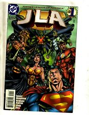 Lot Of 8 Jla Dc Comic Books # 1 3 5 6 7 8 9 + Wedding Special Batman Flash Mf16