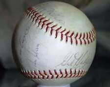 1969 METS WORLD SERIES TEAM BALL 31 JSA NATIONAL LEA AUTOGRAPH BASEBALL SIGNeD