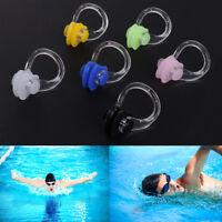 3pcs Silica Gel Swimming Watertight Nose Clip Swim Fitness Pool PC Nasal Splint