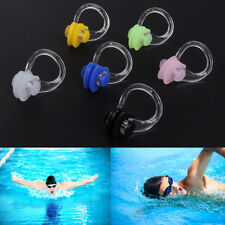 3pcs Silica Gel Swimming Watertight Nose Clip Swim Fitness Pool PC Nasal Splint