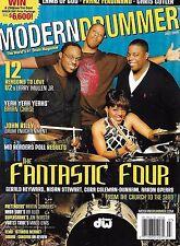 Modern Drummer Magazine Gerald Heyward Nisan Stewart Cora Dunham Aaron Spears
