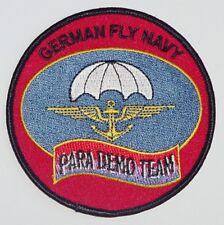 Marine Aufnäher Patch German Fly Navy Para Demo Team ..........A4776