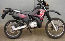Yamaha DT 125 91-03  4BL Black violett DEKOR DECAL KIT Aufkleber Verkleidung 13