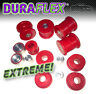 BMW E36 REAR SUBFRAME BUSHES & DIFF Mounts -RED Duraflex Helix  EXTREME PU