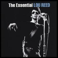 LOU REED (2 CD) THE ESSENTIAL ~ TALK A WALK ON THE WILD SIDE~GREATEST HITS *NEW*