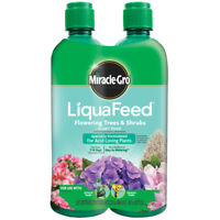 Miracle-Gro 112100 LiquaFeed Flowering Tree & Shrubs Plant Food, 16 Oz,