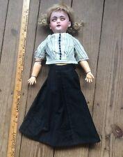 Antique Simon & Halbig Bisque Doll, S H 1079-8 DEP, Sleepy Eyes, Stunning