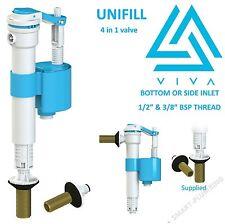VIVA Skylo UN1FILL Universal 4 in 1 Float Valve Fill Valve Brass Thread UNI/B