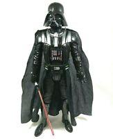 "Star Wars Darth Vader Action Figure 20"" With Lightsaber Jakks Pacific 2016"