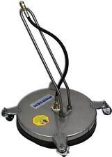 CentroMaxx Edelstahl, Boden/Flächenreiniger für Hochdruckreiniger 40 cm Ø