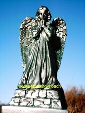 NEW RUBBER LATEX MOULD MOULDS MOLD TO MAKE MEMORIAL GARDEN ANGEL PRAYING STATUE