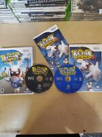 Bundle of 2 Nintendo Wii Rayman Games - Raving Rabbids 1 + 2 - Tested