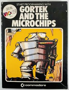Gortek and the MIcrochips (Commodore VIC-20) Tapes, Box, Manual #88