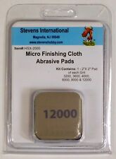 Micro Mesh HSX2000 Paint Polishing Soft Touch Pads (6 Grits) 3200 to 12000