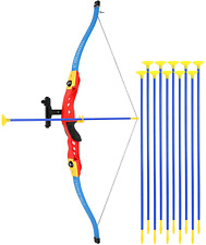 TeganPlay Bow and Arrow for Kids Archery Toy Set Includes 8 Suction Cup Arrows K
