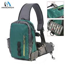 Maxcatch Splash Waterproof Fly Fishing Sling Bag Multi-Purpose Shoulder Pack