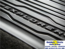 2017 FORD EXPLORER FORD OEM TRAY STYLE RUBBER 4PC MAT