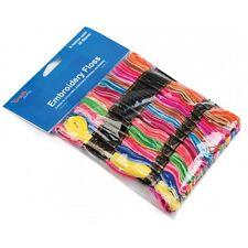 Craft Factory 36 X 8m Arco Iris De Colores Hilo Madejas de hilo de bordar