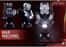 Hot Toys 1/6 Civil War MK 3 III Iron Man War Machine Bust New