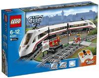 Lego City 60051 610pz ☆ Treno Passeggeri alta Velocità ☆ ► NEW! PERFECT MISB ◄