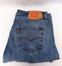 Men's Levi's 501 Button Fly Jeans Size W36 L30 Light Color